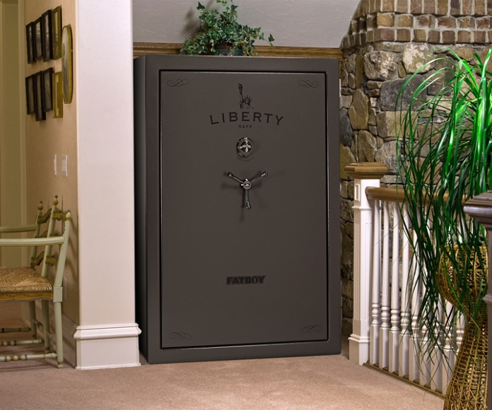 gun safe at home